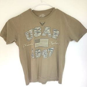 USAF 1947 Freedom Fighters Tee Shirt L Air Force